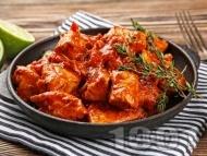Рецепта Нисковъглехидратно пиле тика масала